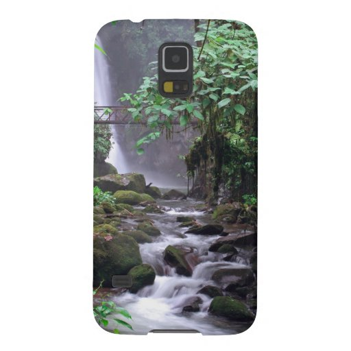 Tranquility cascading waterfall Costa Rica Samsung Galaxy Nexus Cases