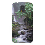 Tranquility cascading waterfall Costa Rica Galaxy S5 Cover