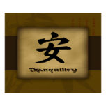 Tranquility Chinese Poster