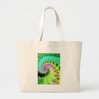 tranquility: detail large tote bag