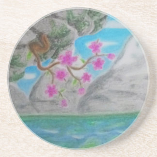 Tranquility Drink Coaster