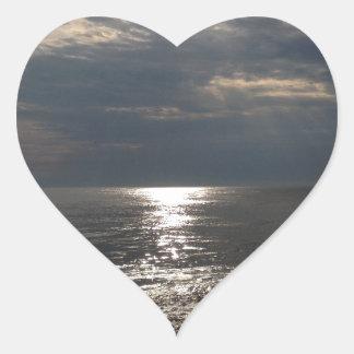 Tranquility Heart Sticker