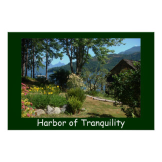 Tranquility in the Gulf Islands Posters