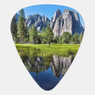 Tranquility In Yosemite Guitar Pick