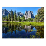 Tranquility In Yosemite Postcard