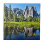 Tranquility In Yosemite Tile