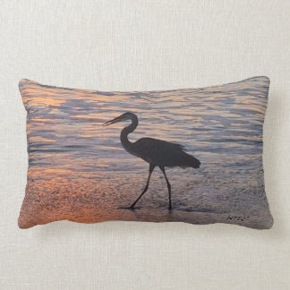 Tranquility on both sides! throw pillow