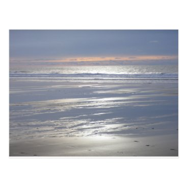 Beach Themed TRANQUILITY Postcard (landscape)