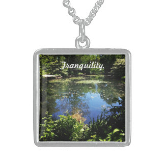 Tranquility Silver Necklace