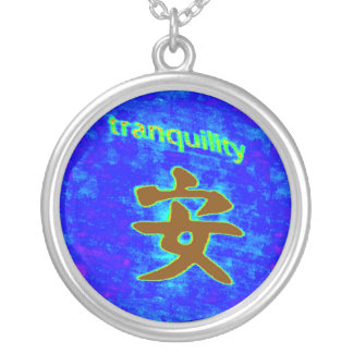 tranquility symbol necklace