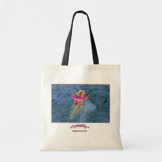 """""""Tranquility"""" Tote Budget Tote Bag"""