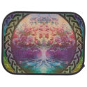 Tranquility Tree of Life in Rainbow Colors Car Mat (<em>$31.65</em>)