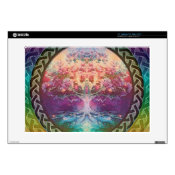Tranquility Tree of Life in Rainbow Colors Decals For 15&quot; Laptops (<em>$31.65</em>)