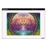 """Tranquility Tree of Life in Rainbow Colors Decals For 15"""" Laptops"""