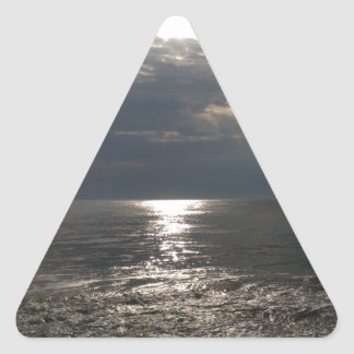 Tranquility Triangle Sticker