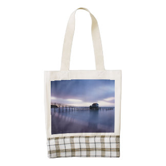 Tranquility Zazzle HEART Tote Bag