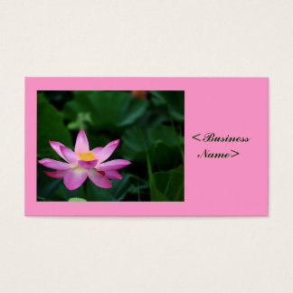 Tranquill Lotus Business Card