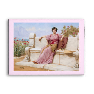 tranquillity oil painting envelope