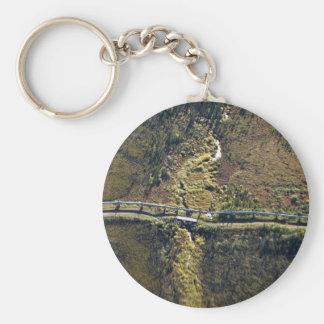 Trans Alaska Pipeline crossing tributary of Koyuku Key Chain