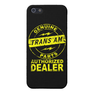Trans Am Genuine Parts iPhone Case Cases For iPhone 5