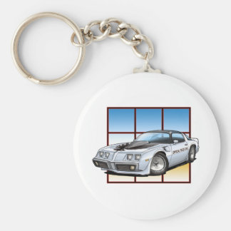 Trans Am Pace Car Keychain