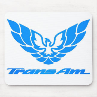 Trans am pad mouse pad