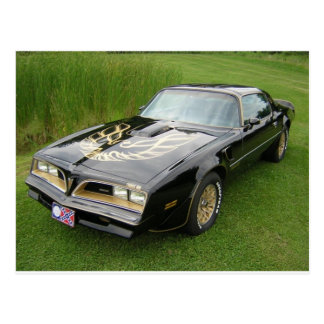trans am post cards