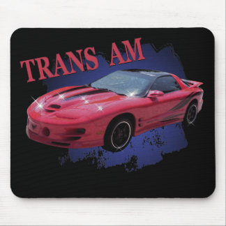 TRANS AM RED & READY MOUSE PAD