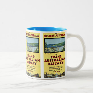Trans-Australian Railway Coffee Mugs