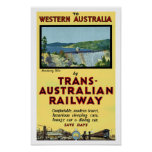 Trans-Australian Railway Posters