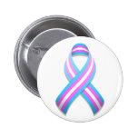 Trans Awareness Ribbon Button