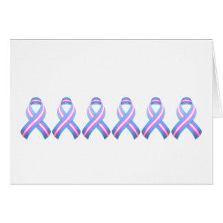 Trans Awareness Ribbon Card