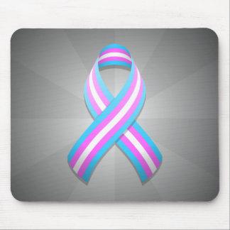 Trans Awareness Ribbon Mousepad
