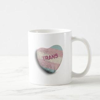 TRANS CANDY CLASSIC WHITE COFFEE MUG
