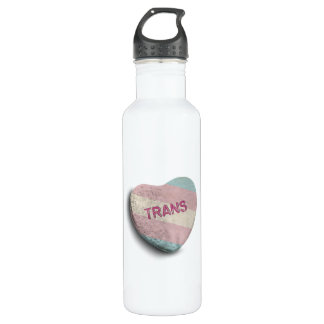TRANS CANDY -.png 24oz Water Bottle