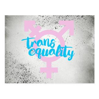 Trans Equality - Trans Symbol - -  Postcard