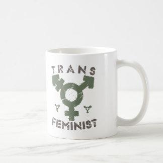 TRANS FEMINIST - For Liberation Of All Women, Bark Coffee Mug