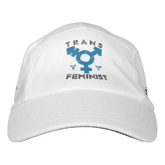 TRANS FEMINIST - For Liberation Of All Women, Blue Headsweats Hat