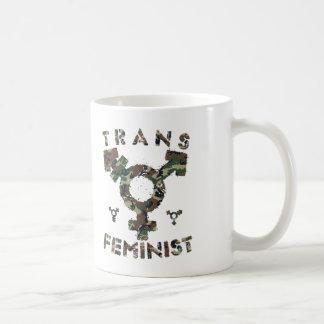 TRANS FEMINIST - For Liberation Of All Women, Camo Coffee Mug