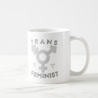 TRANS FEMINIST - For Liberation Of All Women, Gray Coffee Mug