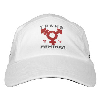 TRANS FEMINIST - For Liberation Of All Women, Red Headsweats Hat