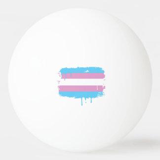 TRANS FLAG DRIPPING -.png Ping-Pong Ball