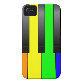 Trans Gay Piano Keys iPhone 4 Case-Mate Case