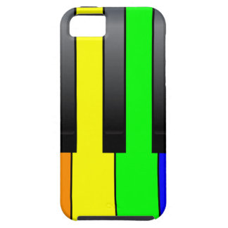 Trans Gay Piano Keys iPhone SE/5/5s Case