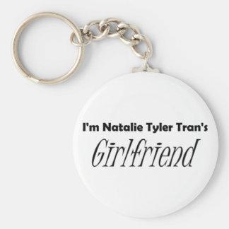 Tran's Girlfriend Basic Round Button Keychain