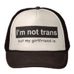 Trans Girlfriend Trucker Mesh Hats