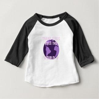 Trans Girls Rule The World (v1) Baby T-Shirt