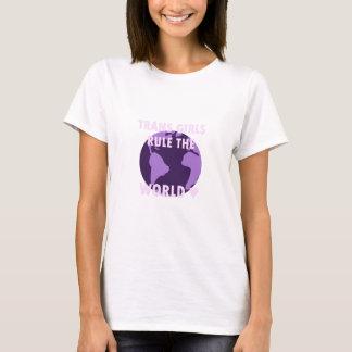 Trans Girls Rule The World (v1) T-Shirt