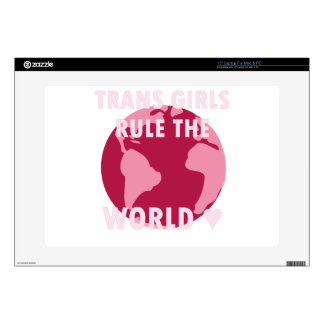 Trans Girls Rule The World (v2) Skin For Laptop