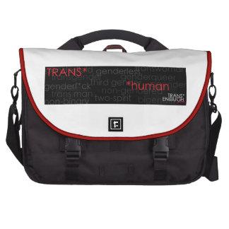 Trans* *human commuter bags
